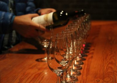 Wine tasting on the Danube